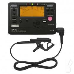 Metronom, tuner cyfrowy i mikrofon kontakt. TM-50-C Korg