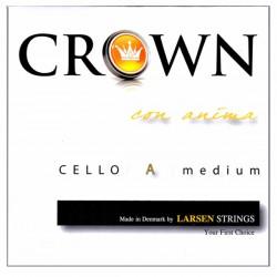 Struny wiolonczelowe Larsen Crown 4 4