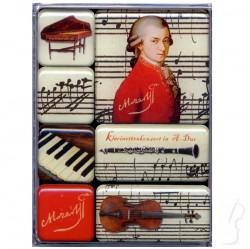 Zestaw magnesów - Mozart