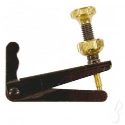 Mikrostroik wiolon. 3/4-4/4 Wittner ze złotą śrubką
