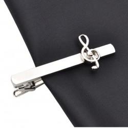 Spinka do krawata - klucz wiolinowy