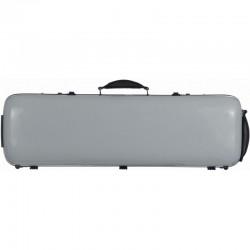 Futerał skrzypcowy 4/4 M-case Safe Oblong, srebrny