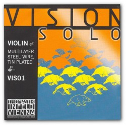 Komplet Vision Solo z D srebrną