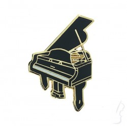 Przypinka w kształcie fortepianu