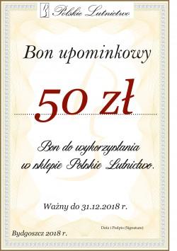 Bon upominkowy 50 zł