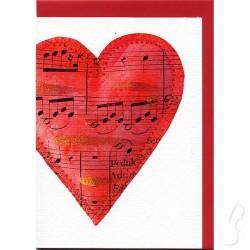 Kartka okolicznościowa - serce