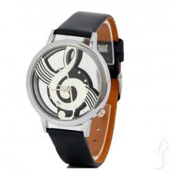 Zegarek z motywem nutek