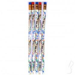 Ołówek FLEXI z motywem muzycznym