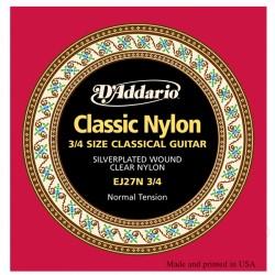 Komplet strun gitarowych 3/4 Classic Nylon