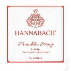 Struna E do mandoliny Hannabach
