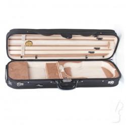 Futerał skrzypcowy 4/4 drewniany M-case, beżowy