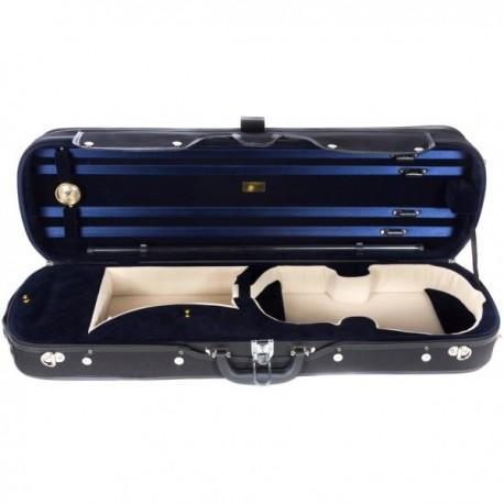 Futerał 4/4 drewniany M-case Classic, granatowy