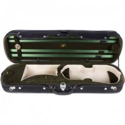 Futerał skrzypcowy 4/4 drewniany Classic, zielony