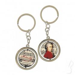 Brelok okrągły - Mozart