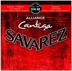 Struny do gitary klasycznej Savarez 510 AR