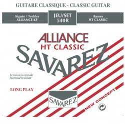 Struny do gitary klasycznej Savarez 540 R