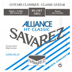 Struny do gitary klasycznej Savarez 540 J