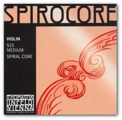 Komplet Thomastik Spirocore z E chromowaną