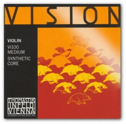 E  Stal/Cyna 1/4 Thomastik Vision Medium