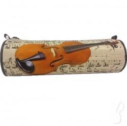 Piórnik z motywem skrzypiec, tuba