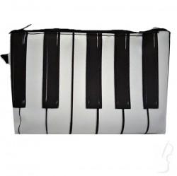 Piórnik z motywem klawiatury, tuba