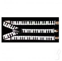 Muzyczne szelki z klawiaturą fortepianu