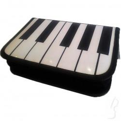 Piórnik z klawiaturą fortepianu- sztywny