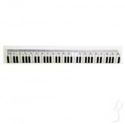 Linijka 20cm z klawiaturą fortepianu