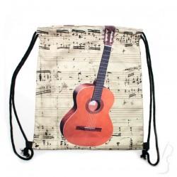 Plecak - worek z motywem gitary klasycznej