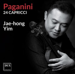Niccolo Paganini - 24 Caprices for Solo Violin Op. 1