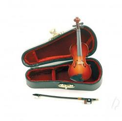 Miniatura skrzypiec - z futerałemi smyczkiem