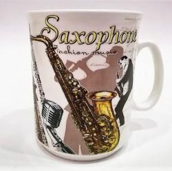 """Kubek """"Saksofon"""" z pudełkiem"""