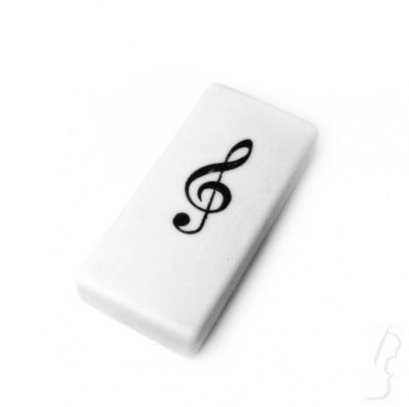 Gumka do mazania - klucz wiolinowy