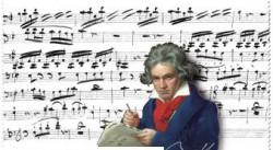 Ściereczka z mikrofibry - Beethoven