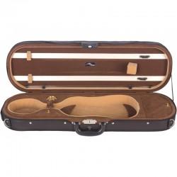 Futerał skrzypcowy 4/4 M-Case Premium - Brązowy