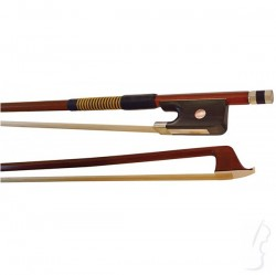 Smyczek wiolonczelowy z drewna brazylijskiego