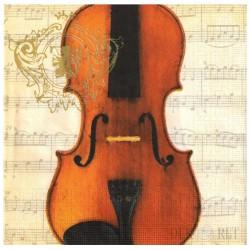 Serwetki z motywem skrzypiec