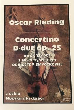 Concertino D-dur op. 25 - Oscar Rieding