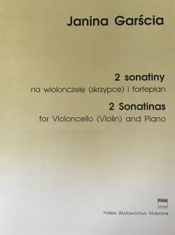 2 sonatiny na wiolonczelę (skrzypce) i fortepian