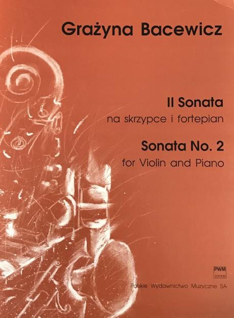 II Sonata na skrzypce i fortepian