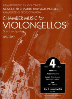Chamber Music for Violoncellos vol. 4 Utwory na 3 wiolonczele