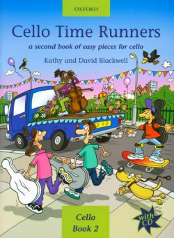 Cello Time Runners A second book of easy pieces for cello (+CD)