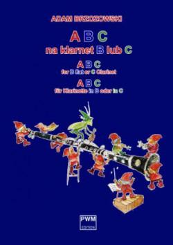 ABC na klarnet B lub C (z.1) Podręcznik do nauki gry na klarnecie dla najmłodszych