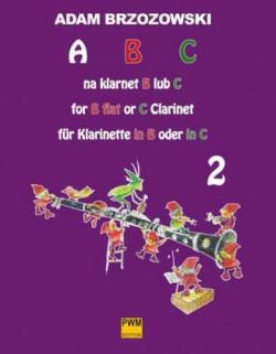ABC na klarnet B lub C (z.2) Podręcznik do nauki gry na klarnecie dla najmłodszych