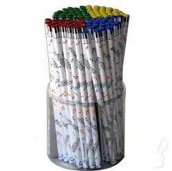 Ołówek z motywem muzycznym - nutki
